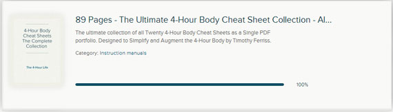 The-Ultimate-4-Hour-Life-PDF-4-Hour-Body-Cheat-Sheet-Porfolio