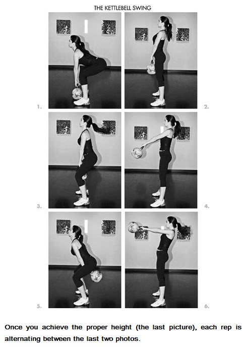 Kettlebell Swing From the 4 Hour Body Occam's Protocol