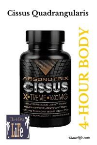 Cuatro horas Vitaminas y Suplementos Cuerpo Cissus quadrangularis