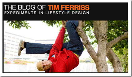 The Blog of Tim Ferriss