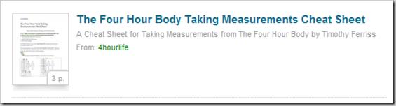 taking measuremetns