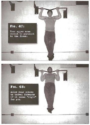 Half Pullup Convict Conditioning