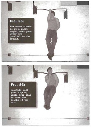 One Half One Arm Pullup Convict Conditioning