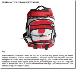 Guardian Two Person Survival Bag