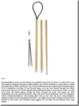 JBL 6 Foot Breakdown Travel Pole Spear