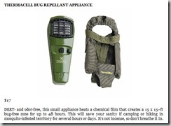 Thermacell Bug Repellant Appliance
